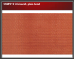 Wills SSMP212 Brickwork, plain bond